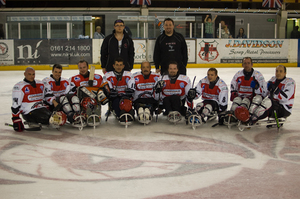 Phoenix Sledge Hockey Team Photo